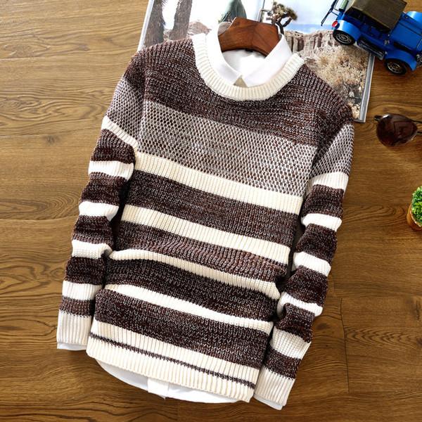 Мужские свитера и пуловеры с длинным рукавом M - размер 2XL Slim Fit Winter Sweater для мужчин Органический хлопок US Style