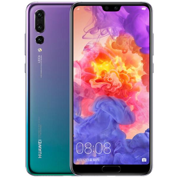 Huawei P20 Pro Lycra Üç Yüz Tanıma Parmak Izi Kilitleme 6.1-inç Ekran Telefon