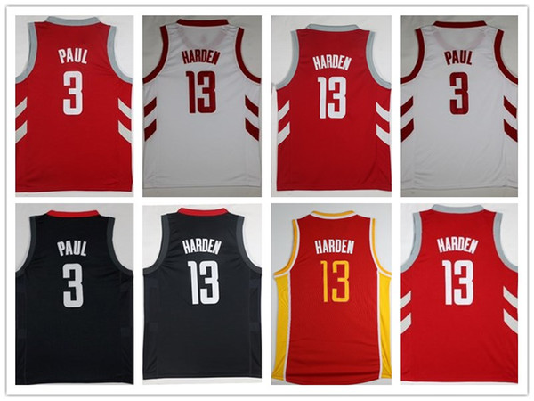 cheaper 18430 4ba37 2019 HOT SALE 2018 New Season Authentic Men Basketball Jersey 13 James  Harden 3 Chris Paul Mens Jerseys From Putian_, $19.29 | DHgate.Com