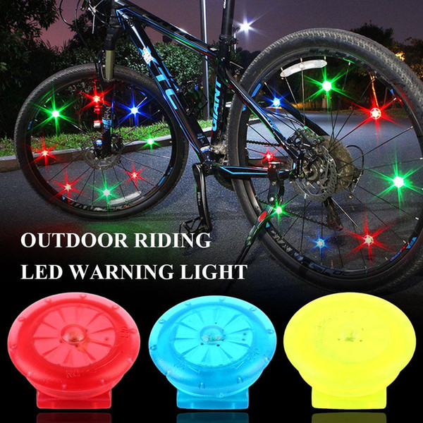 Mini LED Light Up Safety Clip on Running Jogging Night Bike Bicycle Rear Light
