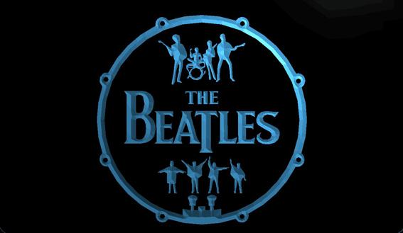 LS1355-b-The-Beatles-Band-Music-Drums-Neon-Light-Signs Decor Free Shipping Dropshipping Wholesale 8 colors to choose