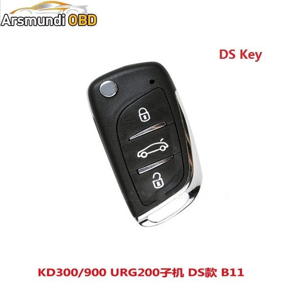 2pcs x B11 3 Button Remote Key for URG200/KD900/KD200 with best quality Free shipping
