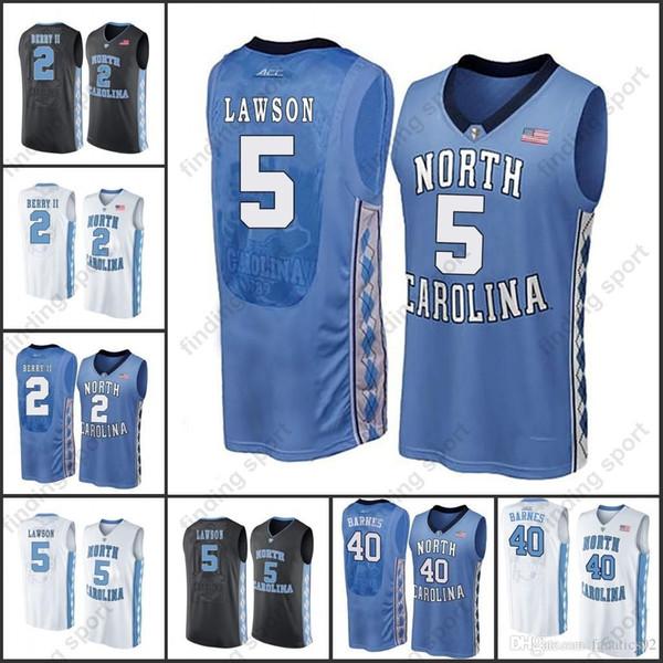 new arrival e279d f5e4d 2019 NCAA North Carolina Tar Heels College Basketball Jerseys Joel Berry II  23 Luke Maye Harrison Barnes Theo Pinson DRUMMOND BIG MIKE From ...