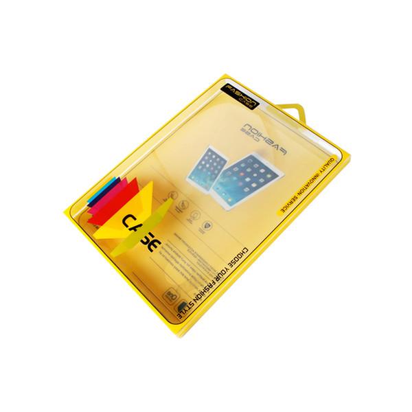 Scatola di imballaggio in PVC per ipad 2 3 4 Custodia Auto sveglia Wake Up Flip Litchi PU Custodia in pelle per tablet