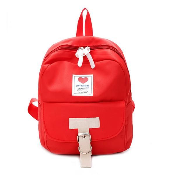 wholesale Women Backpack Travel Bag Women Pack Lovely Korean style Leather Brand School Backpacks Lovely Girls Bags Ladies Mocha