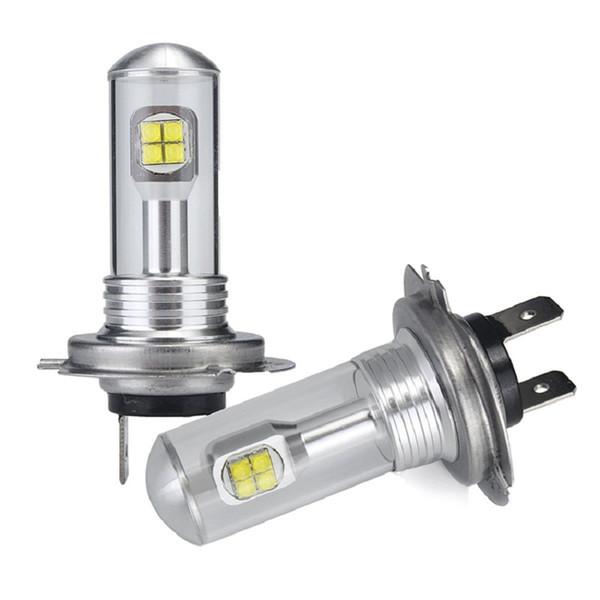 best selling Free Shipping Latest Design 2PCS Lot Super Bright 40W H7 Premium Quality 40W Car LED Fog Light