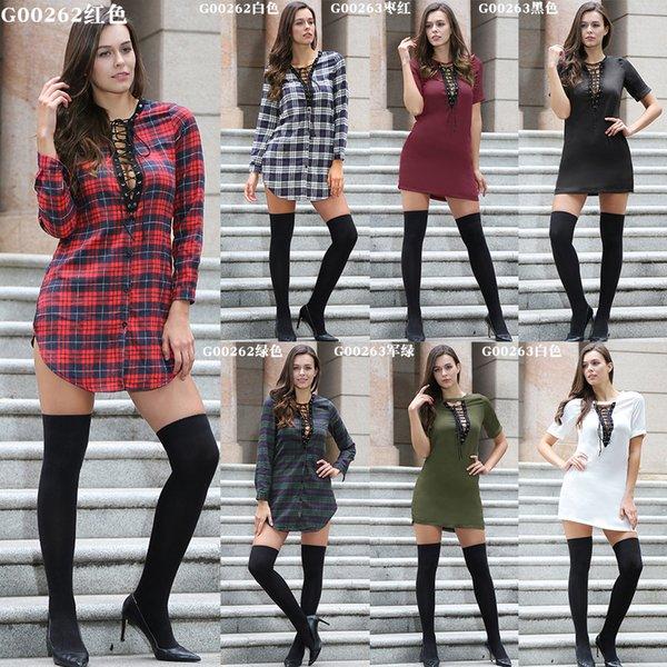 Европа и Соединенные Штаты осень мода новая женская клетчатая рубашка Европа и Соединенные Штаты элегантная благородная рубашка дамы сексуальная повседневная футболка