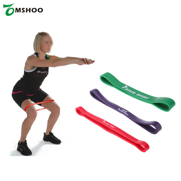 2018 Natural Latex Pull Up Assist Band Fitness Resistance Band CrossFit Yoga Exercises Looped for 15-45Lbs Training Equipment