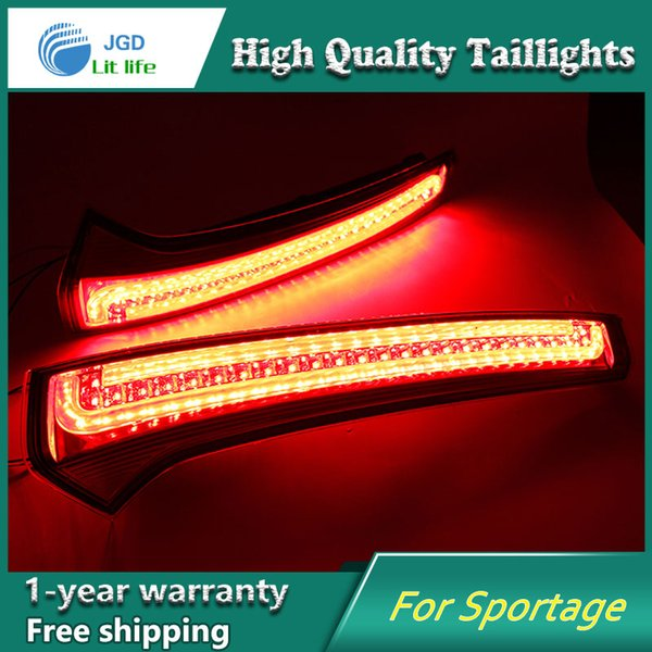 Car Styling tail lights LED Brake Lights Warning case For KIA Sportage cerato sportageR Ceed 2007-2014 Taillights