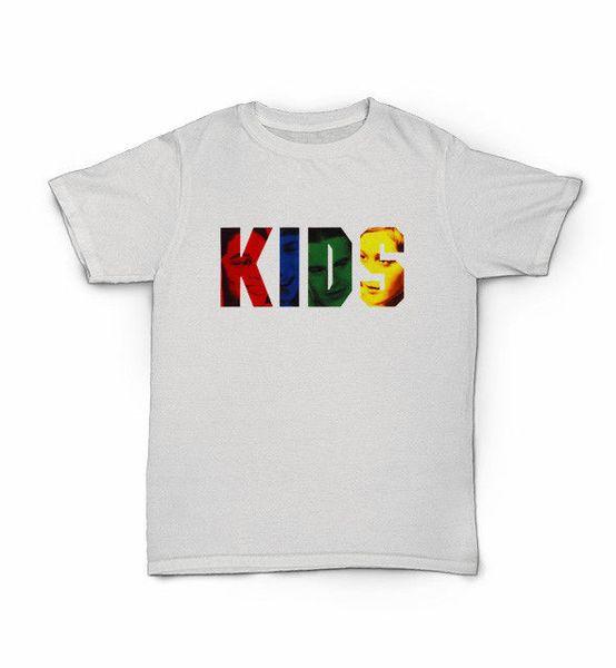 Camiseta para niños - Skate de la calle de la ciudad de Nueva York - Película de Hip Hop de los años 90 Películas de marcaBrand jeans Imprimir