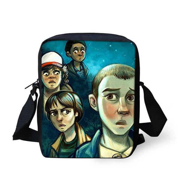 254dcab22116 Messenger Bags for Kids Stranger things School bag Printing Shoulder Bags  Children Mini Kindergarten Crossbody Boy Girl Bag