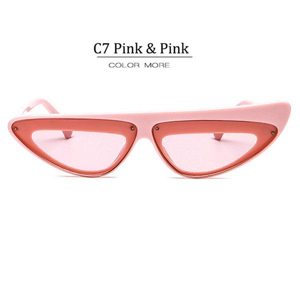 C7 Pink Frame Pink Lens