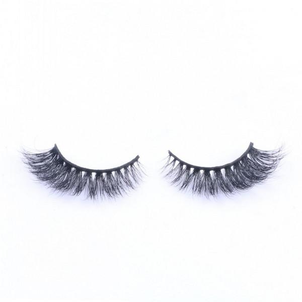 Hot Sale 3D False Eyelashes 100% Handmade Mink Hair Lashes Natural Long Curl Thick Eyelash Extensions Black Color Eyelashes