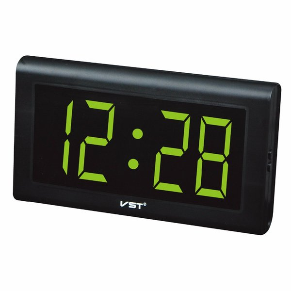 VST 795 LED Digital Table Wall Clock Home Modern Simple Decor HD Screen Big