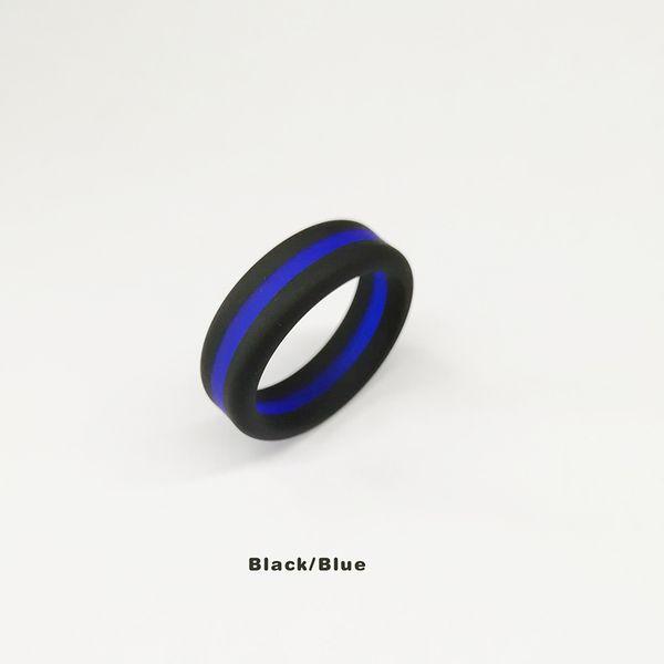 Siyah / Mavi