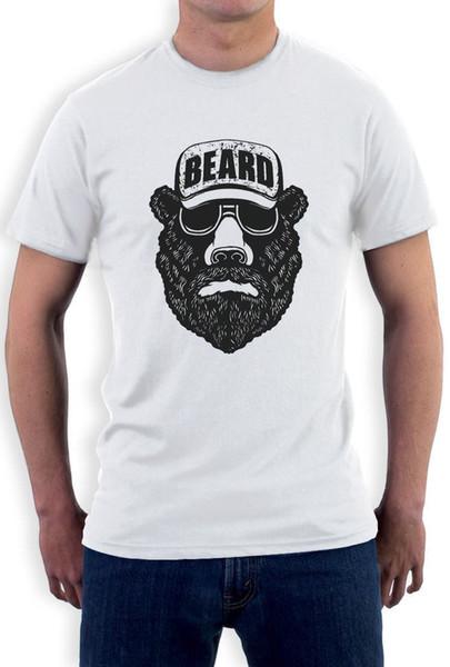 BEAR + BEARD Cool Hediyelik Fikir - Komik Sakal Tişört Sakallı Erkek Giyim
