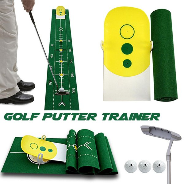 Golf Swing Straight Practice Golf Putting Training Aid Swing Trainer Accessories