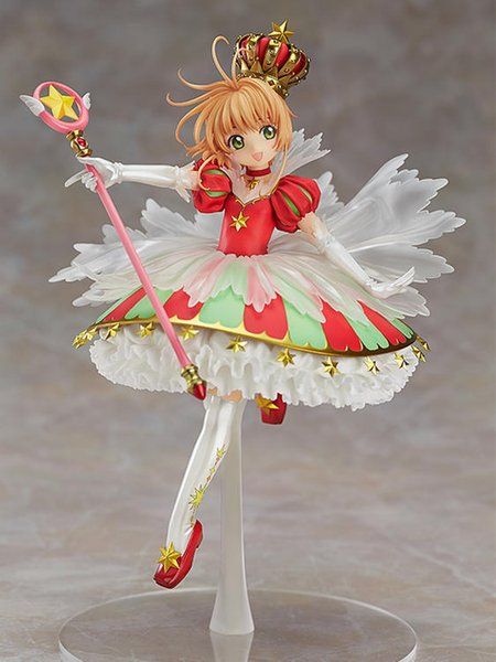 27cm Anime Cardcaptor Sakura Action Figure PVC Collection Model toys for christmas gift with retail box