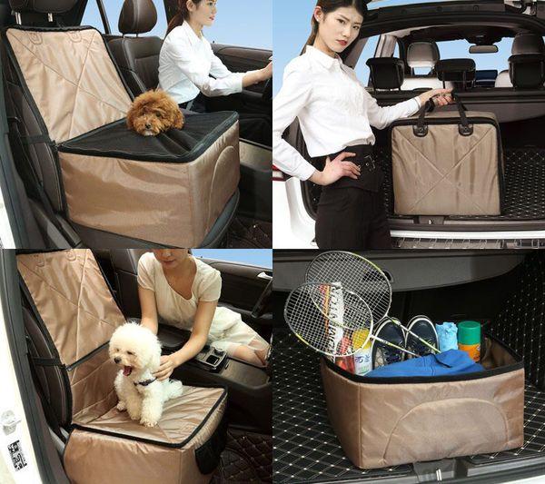 Portable Pet Dog Bag Pet Carrier Car Seat Pad Safe Carry House Cat Puppy Bag Travel Accessories Blanket Dog Basket