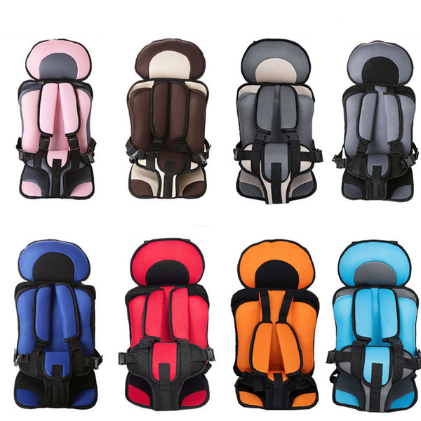 top popular 2018 New 0-5T Baby Portable Car Safety Seat Kids Car Chairs Children boys and girls Car Seat Cover C4664 2021