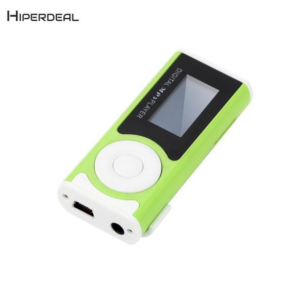 Großhandel Art Und Weise Neuer MP3 Player Mini Glänzender USB Klipp LCD  Digital MP3 Media Player Unterstützung Extra Micro SD Kinder Spezielles ...