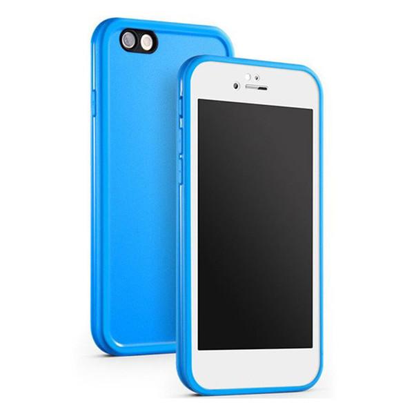 Custodia impermeabile per iPhone 7 Plus 6 Plus Custodia impermeabile TPU in gomma TPU per Iphone X 8 Plus Custodia subacquea per immersione subacquea antipolvere 6 Plus