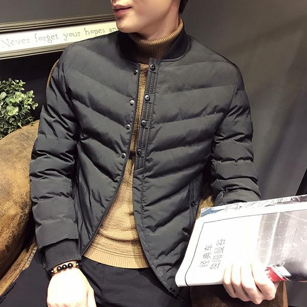 MRMT 2018 Brand Winter New Men's Jackets Casual Sleeve Baseball Collar Overcoat for Male Cotton Padded Jacket Clothing Garment