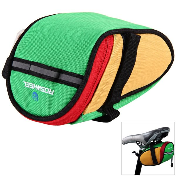 Roswheel 13567 Bicycle Cycling Saddle Bag Rear Tail Back Seat Pouch For MTB Outdoor Bike Accessories Bike Seat Bag