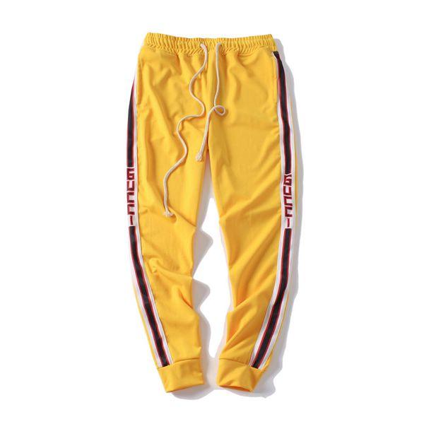 Mens Designer Jogger Track Pants Fashion Brand Jogger Clothing Side Stripe Drawstring Trousers Brand Sport Sweat Pants for Male