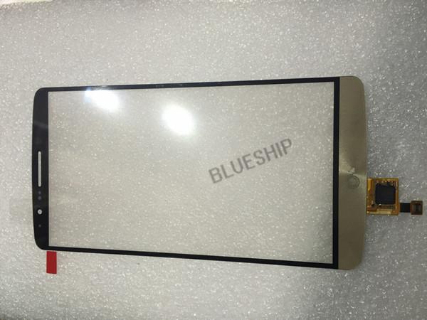 Orijinal LG G3 D850 için flex ile LCD Dokunmatik ekran dış cam ekran sayısallaştırıcı dokunmatik