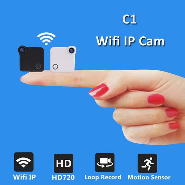 C1 Wifi IP Mini Camera 720P HD Micro Camera H.264 Motion Detection Body Wireless Mini DV Video Voice Camcorder