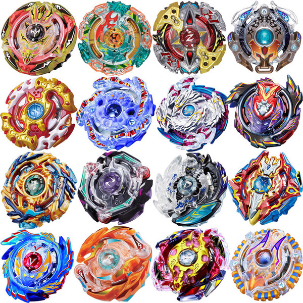 Nueva Spinning Top Beyblade BURST Metal Plastic Fusion 4D B73 B79 B86 B92 B97 B97 B100 Bayblade sin lanzador y caja Juguetes Mix 3 Color Pic / lot