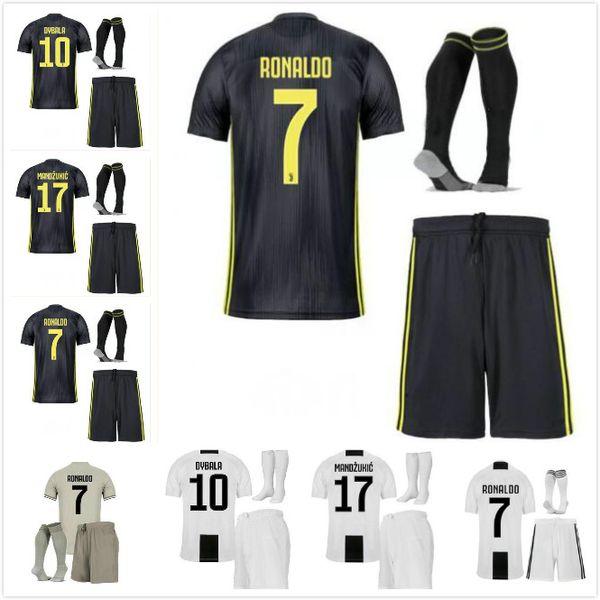 huge selection of a3e71 95e16 2019 3 Champions League 2018 Adult RONALDO JUVENTUS Soccer Jersey Men Kit  18 19 Away Home 3rd DYBALA Costa Mandzukic JUVE Football Shirt From ...