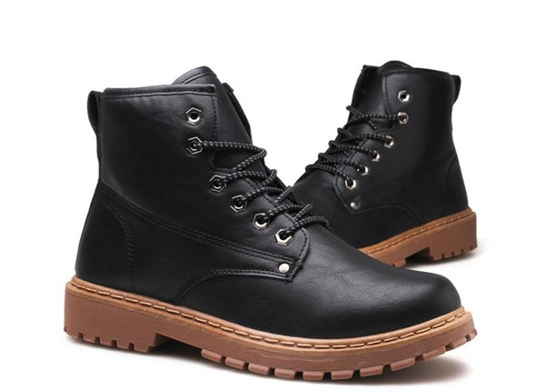big size genuine leather boots military retro motorcycle boots skull rivets men shoes outdoors ankle boots chaussure homme