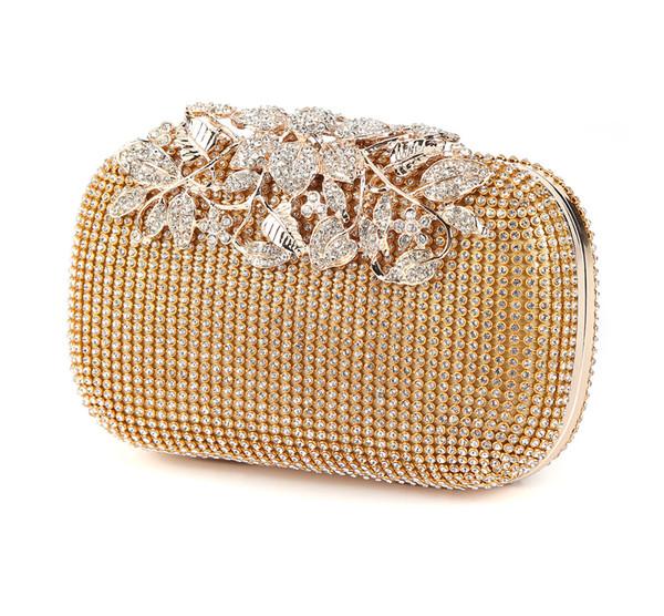 2017 Brand Designer Women Diamond Rhinestone Clutch Woman Evening bag Crystal Day Clutch Wallet for Wedding Purse Party Banquet