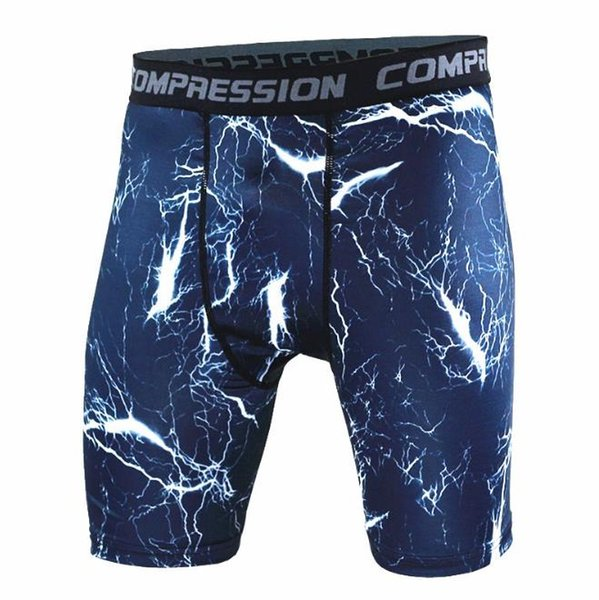 Free Shipping New 2018 Shorts Men High Quality Elastic Tight Compression Shorts Casual Homme Joggers Men Masculino