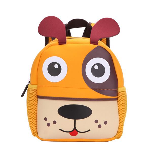 Winmax Factory Girls 3D Animal High Quality Waterproof Backpack Kids School Bags for Boys Cartoon Shaped Children Backpack Bags Y18110107