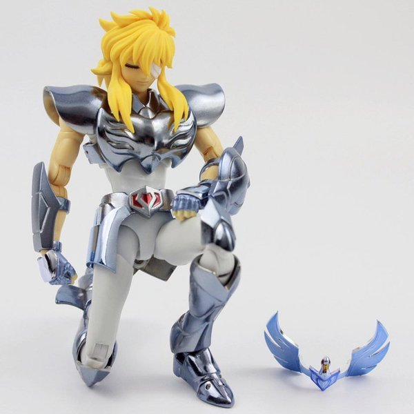 Tolles Spielzeug PTC Saint Seiya Stoff Mythos Ex Hyoga Cygnus V3 One Piece Anime Cartoon Action Figure