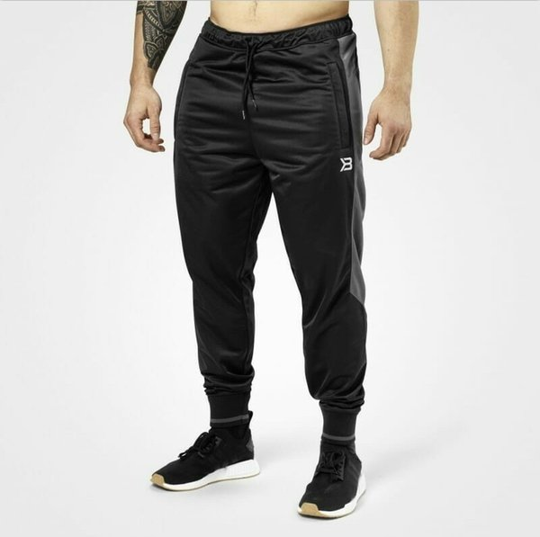 Men Running Sweatpants Sportswear Skinny Sport Leggings Joggers Tights Mens Gym Fitness training Pants Elastic Cotton Trousers