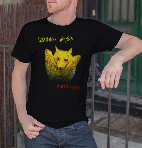 Guano Apes Men Black T-shirt Proud Like A God Metal Band Tee Rock Shirt S-XXL