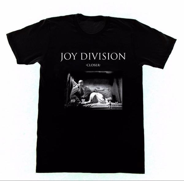 100% Cotton Tops Tee Short Sleeve Men Top Joy Division Closer T Shirt M103 Shirt New Order O-Neck T Shirt