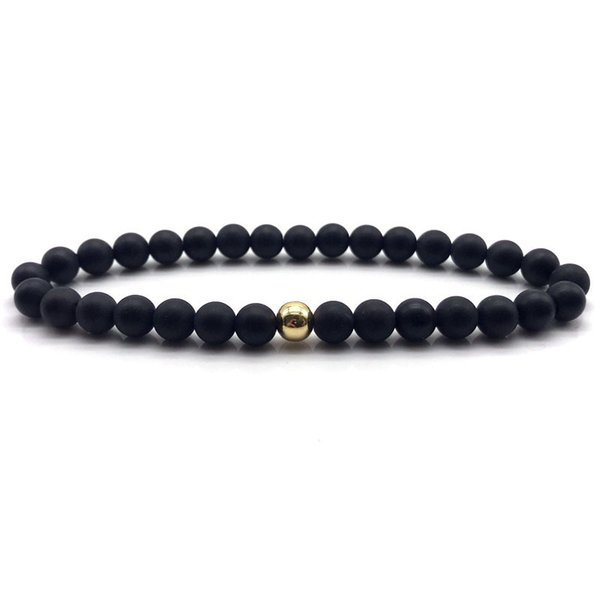 NAIQUBE 2018 Fashion New Bracelets Mens Simple Classic Beads Charm Bracelets For Men Jewelry Gift