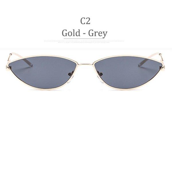 Obiettivo grigio in oro C2