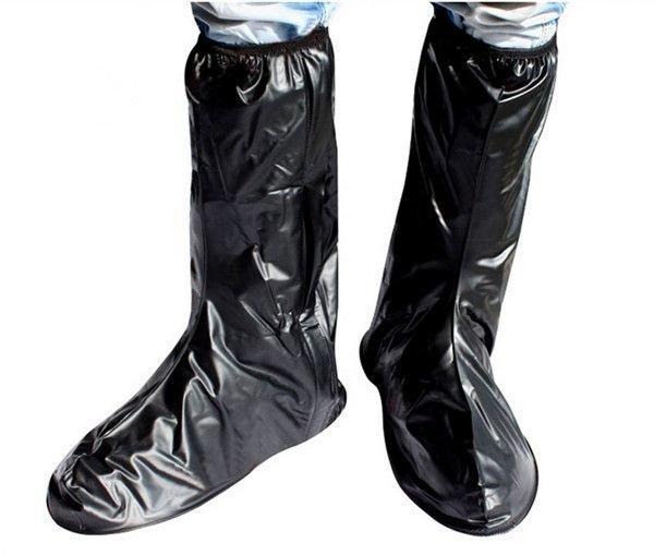 Woman/Man waterproof Non-slip Rain Boot Cover Cycling Riding Bike Shoes M-XXL motorcycle Anti-Slip protective gear rain shoe cover