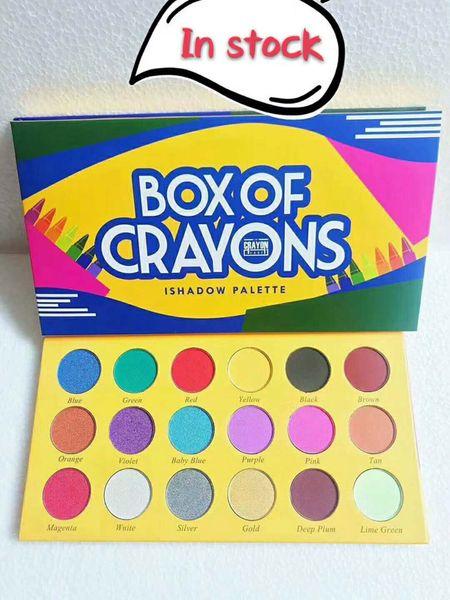Eye hadow palette co metic box of crayon i hadow eye hadow palette 18 color palette eye hadow dhl hipping