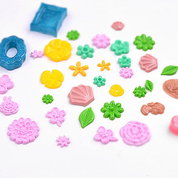 1PC New Design 3D Silicone Mold Flowers Resin Mold for DIY Making Jewelry Nail Art Template Tools