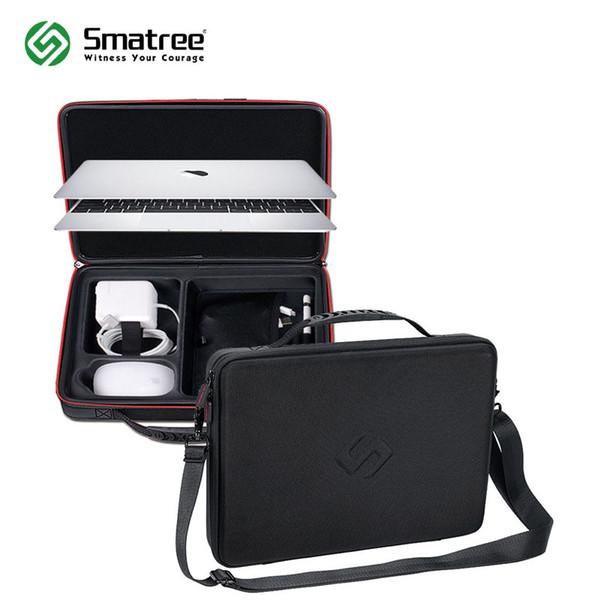 Custodia rigida Smatree per Apple Macbook Air 13,3 pollici, Macbook Pro 13 pollici, 12 pollici con tracolla