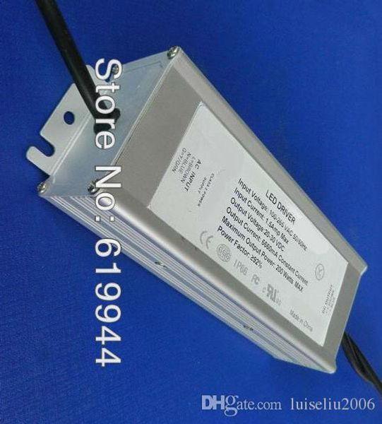 120W constante voltaje constante corriente constante fuente de alimentación LED impermeable lluvia PWM dimmer eficiente PF larga vida