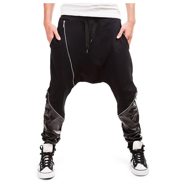 Mens Joggers 2018 Marca Maschio Pantaloni Uomo Pantaloni Pantaloni Casual Pantaloni Sportivi Combattere Pantalones Hombre Harem Pants XXL