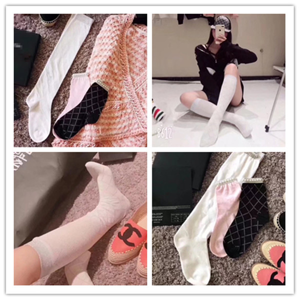 XPC1 - 2018 new arrived C1 100% COTTON Stocks. Star and network Reds long socks. free size WHITE color